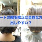 1番人気艶髪自然丸みストレート!ショートは綺麗になりやすい?